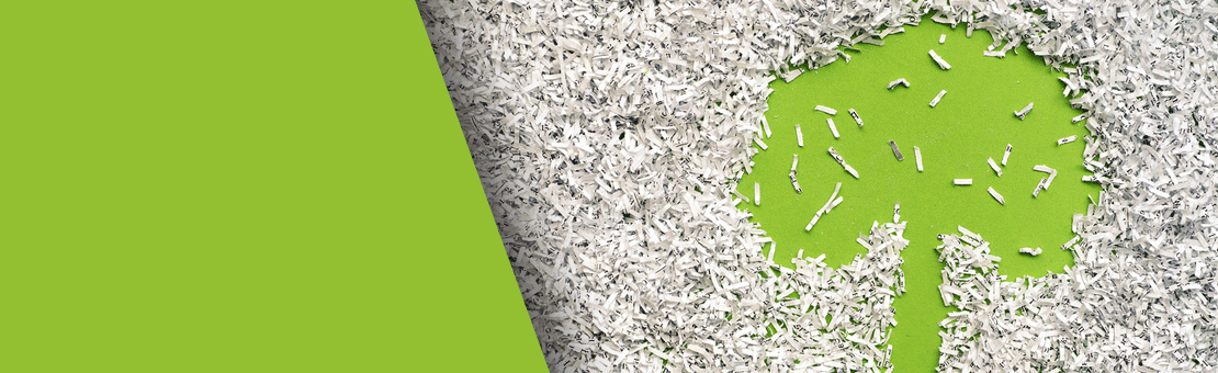 We Recycle Your Shredded Office Paper